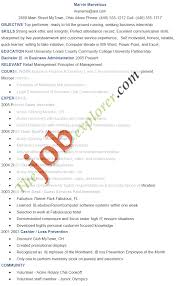 Govt Jobs Resume Format by Job Create Resume For Job