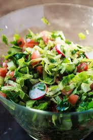 Garden Vegetable Salad by Fattoush Salad Recipe The Mediterranean Dish