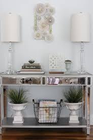 modern console table decor how to style a modern console table euro home blog pertaining ls