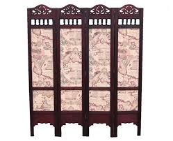 Panel Shoji Screen Room Divider - curtain room divider ideas black 4 panel shoji screen with asian