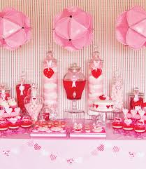 Candy Decorations For Valentine S Day by Using Cotton Candy In The Tall Apothecary Jars Is Genius What A