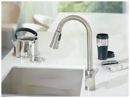 Moen One Handle Pullout Kitchen Faucet Moen 7175 Level One Handle High Arc Pullout Kitchen Faucet Best