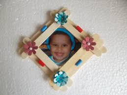 popsicle stick frame google search mother u0027s day pinterest