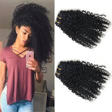 curly clip in hair extensions 3b 3c curly clip in human hair extensions color