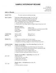 resume sles for college students seeking internships in chicago college internship resume free sle sles for students seeking