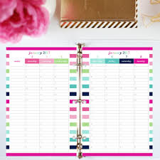 printable hourly planner 2017 printable planner half letter vertical hourly jessica marie
