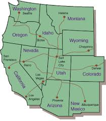 map usa west map of usa west region arabcooking me