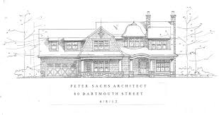Gambrel Style House by Peter Sachs Architect New Shingle Style Gambrel