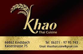 khao thai cuisine home kindsbach menu prices restaurant
