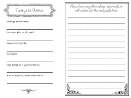 wedding guest book pages wedding guest book template invitation template
