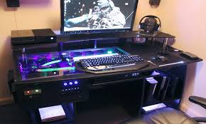 Ultimate Game Chair Furniture My New Gaming Station Build Gaming Desk Ultimate Gaming