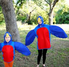 Mother Daughter Costumes Halloween Robin Red Breast Bird Costumes Child