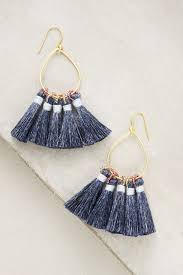 jolie tassel earrings anthropologie