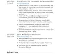 Staff Accountant Resume Samples by Resume Template Best Business Free Collateral Analyst Resume