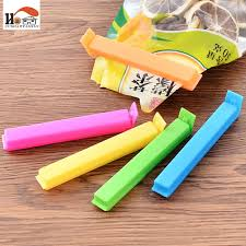 cushawfamily 5pcs lot colored bag clip food snack storage