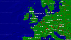 The Map Of Europe Show The Map Of Europe Major Tourist Attractions Maps