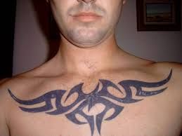 cool and awesome chest tattoos designs and pictures for