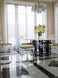 Acrylic Dining Room Table Lucite Dining Chairs 833