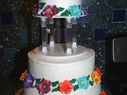 hawaiian themed wedding cakes hawaiian luau themed wedding cake cakecentral