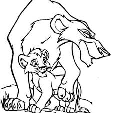 mufasa the great the lion king coloring page mufasa the great the