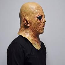alien ufo et rubber masks movie