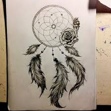 dreamcatcher and roses drawing clipartxtras