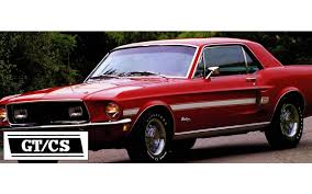 mustang gt cs graphic express 1968 mustang gt cs california special stripe kit