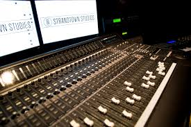 Studio Mixing Desks by Gallery Strand Town Studios