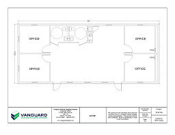 Floor Plans For Commercial Buildings by Modular Offices In Louisiana Get Custom Portable Buildings Vanguard