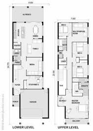 house building plans narrow house plans inspirational town house building plan