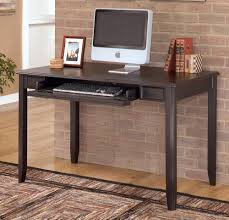 Chic Home Office Desk Decorating Ideas Amusing Decorating Ideas Using Rectangular Brown