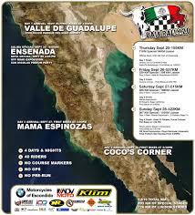 Baja Map Baja Rally 2 Week Countdown 1 619 Km General Map Released