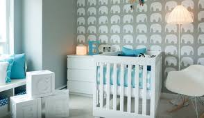 baby boy room decor grey