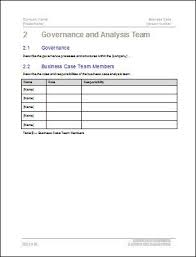 business case template 22 pages ms word with free sample materials