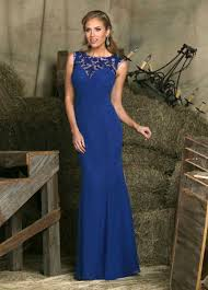 bridesmaid dress gown colors royal are cobalt blue chiffon