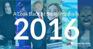 The Social Clinic Trend Part - a look back at social media in 2016 the social clinic