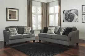 Ashley Furniture Sofa And Loveseat Sets Gayler Steel Sofa By Ashley Furniture