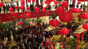 at the richest mall in america chinese new year is as big a deal