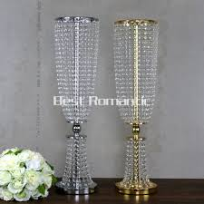 crystal home decor online get cheap tall crystal candle holder aliexpress com