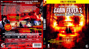 cabin fever 2 blu ray dvd covers 2009 r2 german