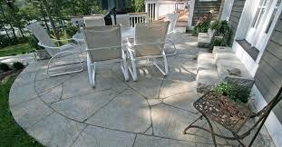 Backyard Cement Ideas Backyard Cement Designs Backyard Ideas Sted Concrete Contrast