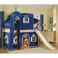 Bunk Bed For Girl by Bedroom Funky Bunk Beds For Kids With Round Floor Lamp Also