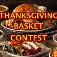save the date and sign up today thanksgiving basket contest