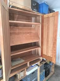 diy wood tool cabinet furniture diy wooden cabinet shelves for attractive garage tool