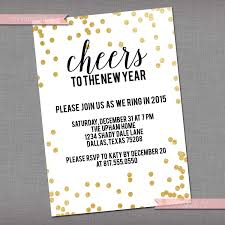 invitations for new years eve party new year u0027s eve party invitation nye invite 2016 new year ideas