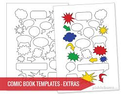 printable book template ks2 free printable comic book templates picklebums