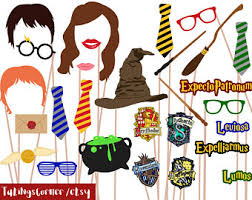 Harry Potter Photo Booth Props Wizard Photo Props Hogwarts