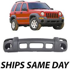 jeep liberty front bumper new textured gray front bumper cover for 2002 2003 2004 jeep
