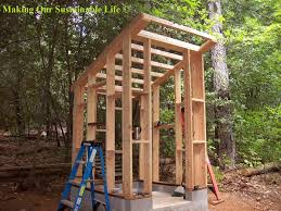 Outhouse Pedestal Toilet Roof Braces For The Outhouse Making Our Sustainable Life