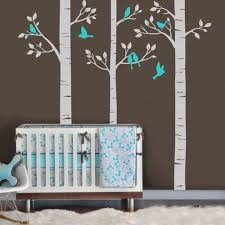 100 childrens personalised wall stickers boys personalised popular personalised wall buy cheap personalised wall lots from 250cm tall trees birds custom personalised wall